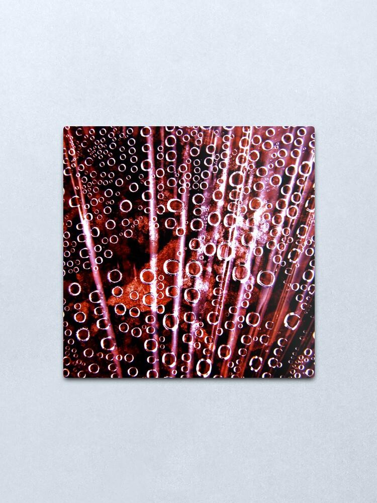 Alternate view of Bubbles Metal Print