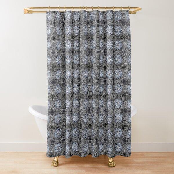 Dark Dandelion by Hypersphere Shower Curtain