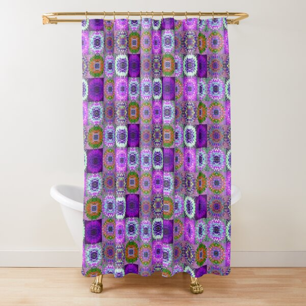 Succulence 44 by Hypersphere Shower Curtain