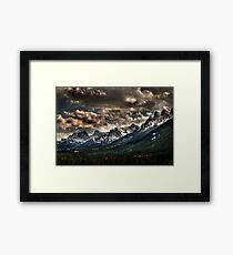 Alberta Rockies Framed Print