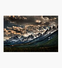 Alberta Rockies Photographic Print
