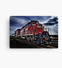 CP Rail Train Canvas Print
