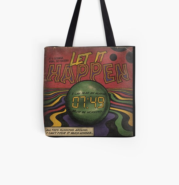 Let it Happen - Tame Impala All Over Print Tote Bag