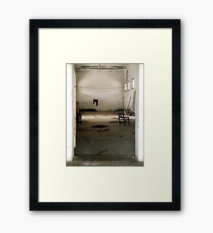 Faded Presence Framed Print