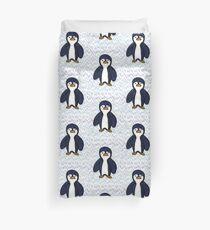 Batik Sad Penguin Duvet Cover