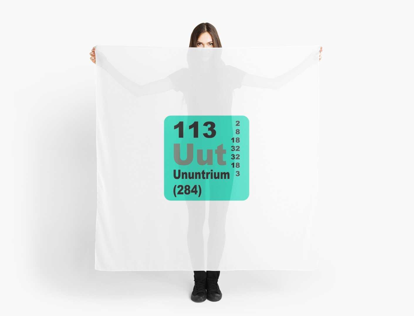 Ununtrium periodic table of elements scarves by walterericsy ununtrium periodic table of elements by walterericsy urtaz Image collections