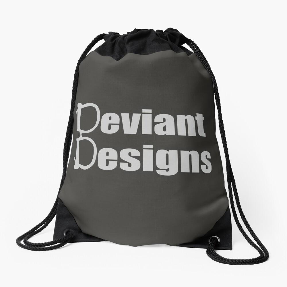 Deviant Designs - Light Drawstring Bag