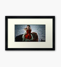 Swallowed in the Sea... Framed Print