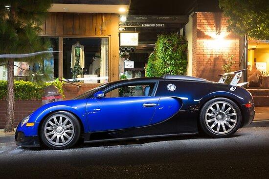 "bugatti veyron blue and black"" postersdavid coyne | redbubble"