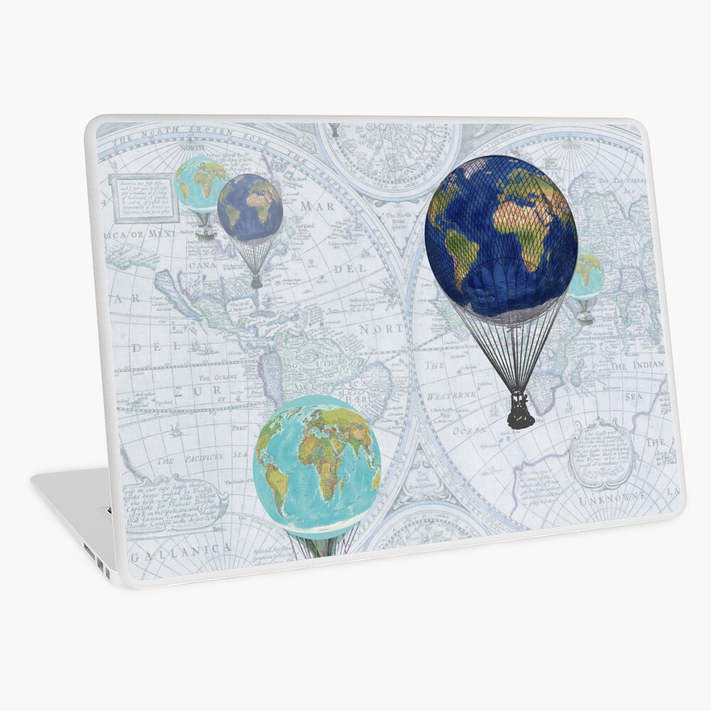 World Flight Laptop Skin