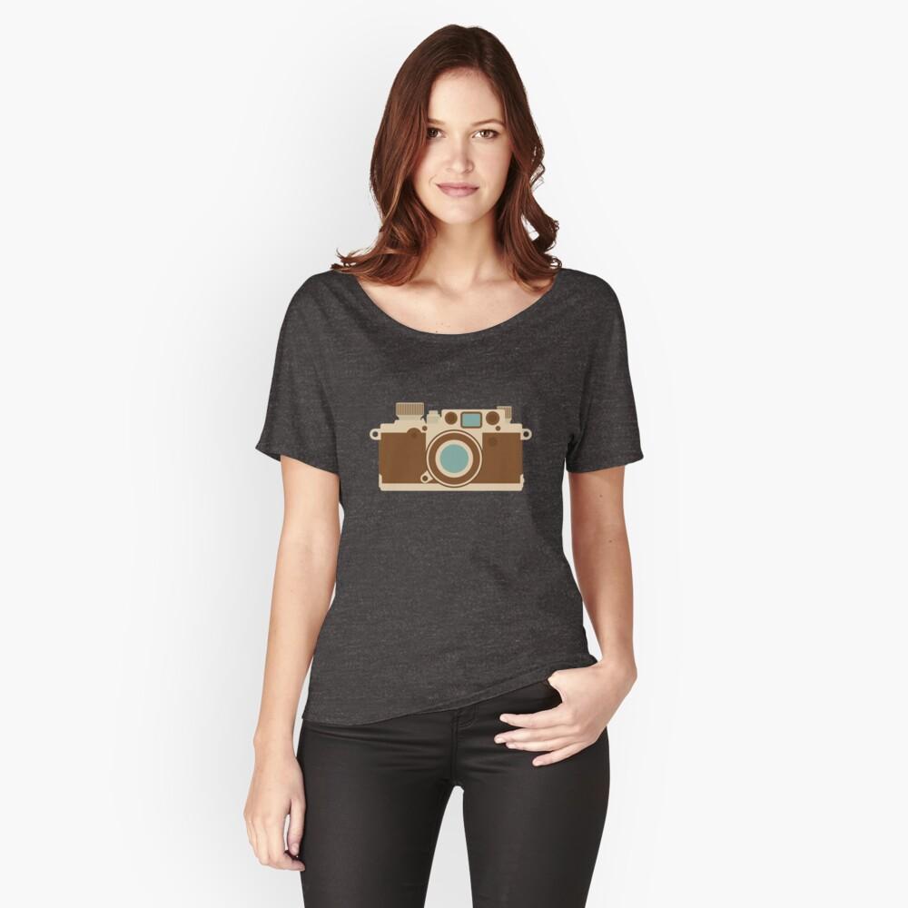 Retro 35mm Kamera Loose Fit T-Shirt
