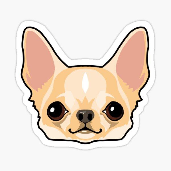 Fawn Chihuahua Pup Sticker