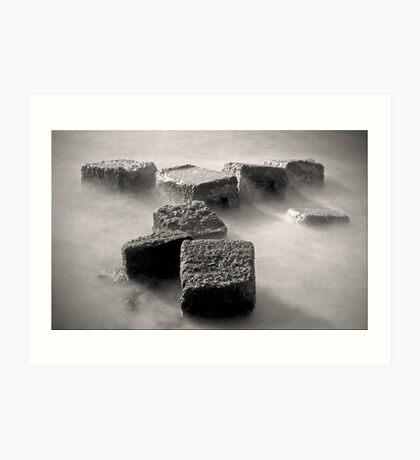 On the Rocks Art Print