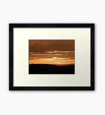 Grainan Gold Donegal Ireland  Framed Print