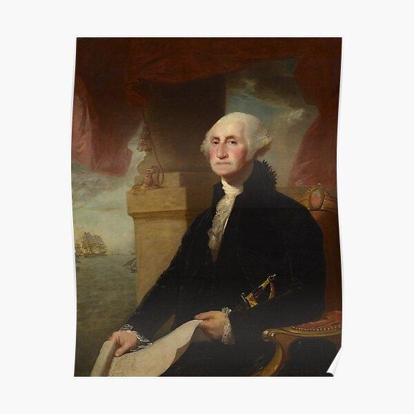 Washington and Document Poster