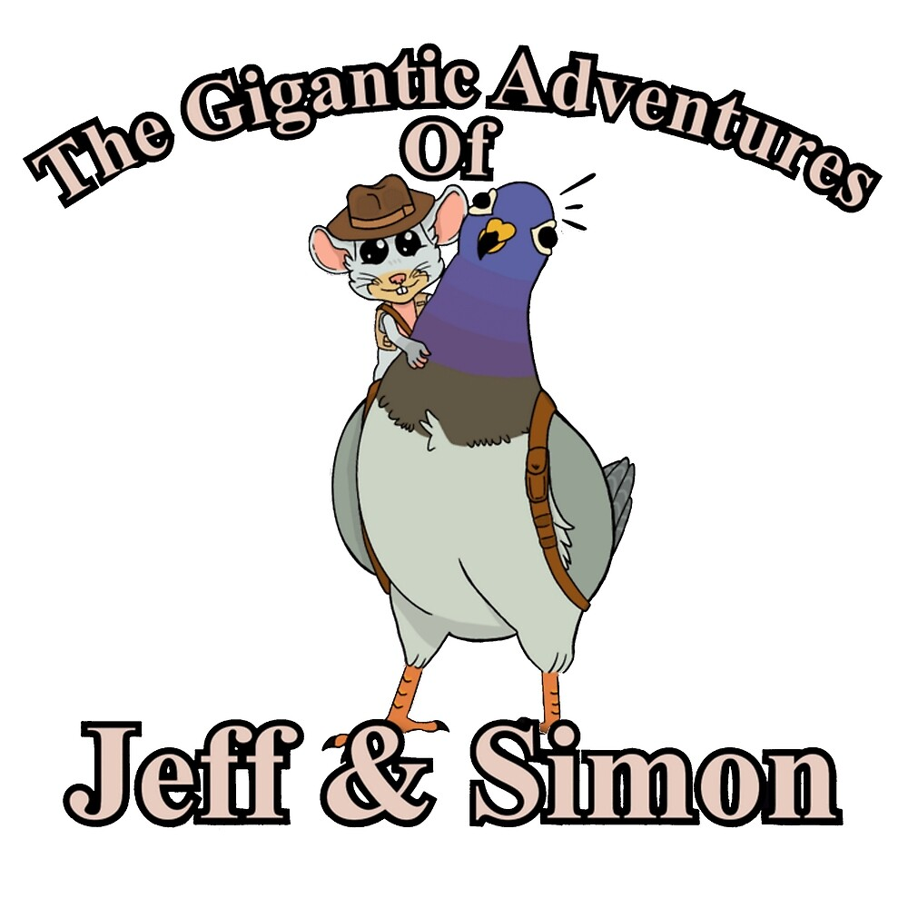 The Gigantic Adventures of Jeff and Simon by fateofisen