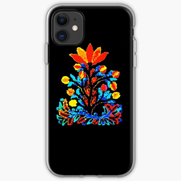 Fire and Water Flower iPhone Soft Case