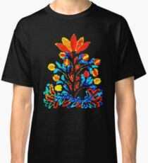 Fire and Water Flower Classic T-Shirt