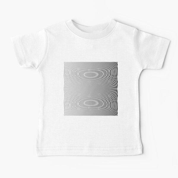 #Design, #abstract, #pattern, #illustration, psychedelic, vortex, modern, art, decoration Baby T-Shirt