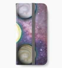 Cappuccino Planets iPhone Wallet/Case/Skin