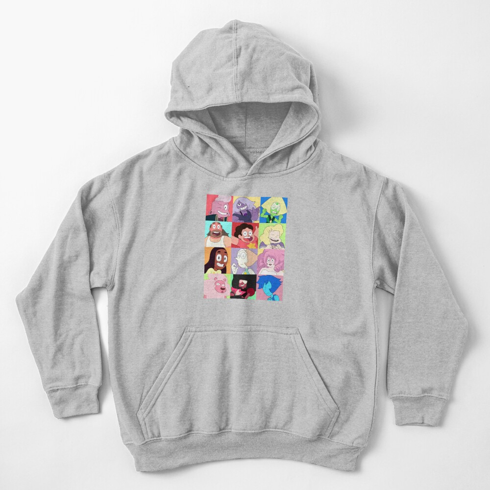 Steven Universe™ Character Set! Kids Pullover Hoodie