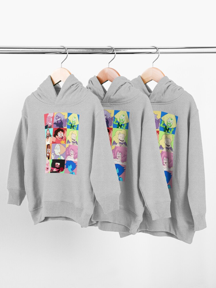 Alternate view of Steven Universe™ Character Set! Toddler Pullover Hoodie