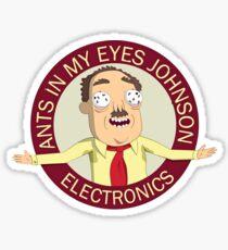 Ants in my eyes Johnson Logo Sticker