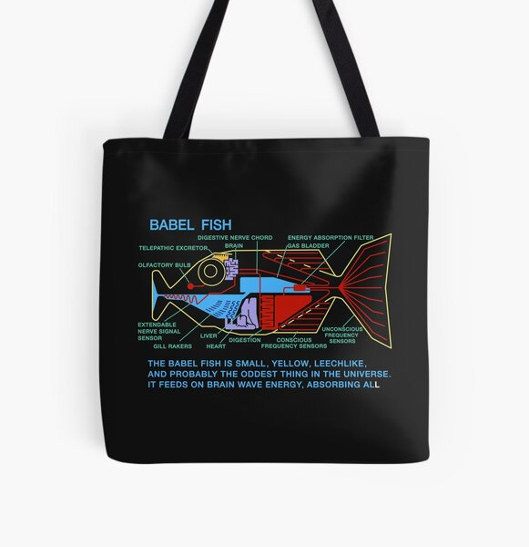 The Oddest Thing In The Universe  All Over Print Tote Bag
