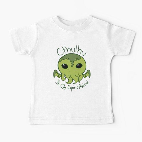 Cthulhu is My Spirit Animal Baby T-Shirt