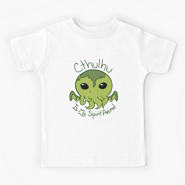Cthulhu is My Spirit Animal Kids T-Shirt