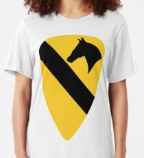 1st Cavalry Division Slim Fit T-Shirt