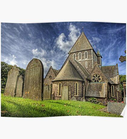 St. Annes Church Alderney Poster