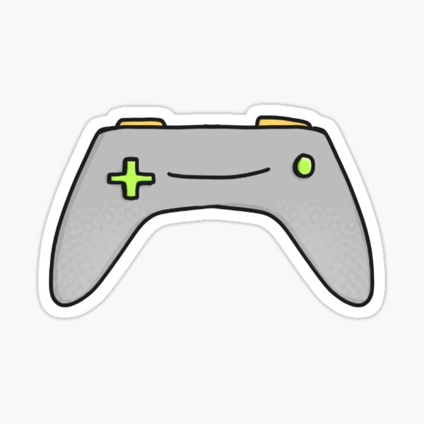 Winking Game Controller Sticker