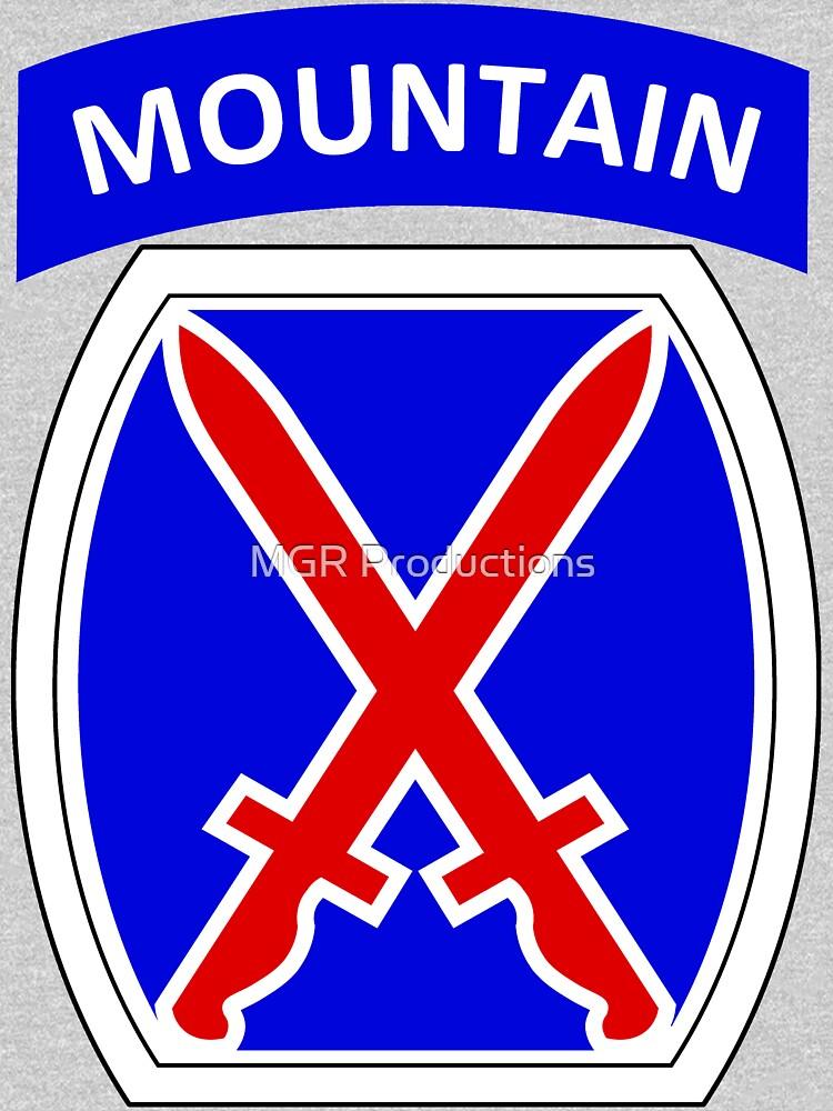 10th Mountain Division Logo by Quatrosales