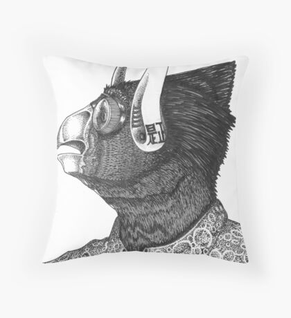 Corrective Throw Pillow