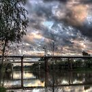 North Bourke Bridge by Jeff Catford