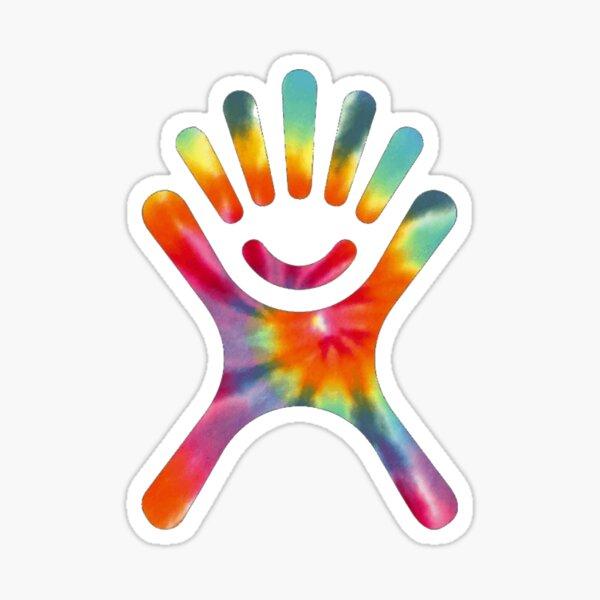 hydroflask tie dye logo Sticker