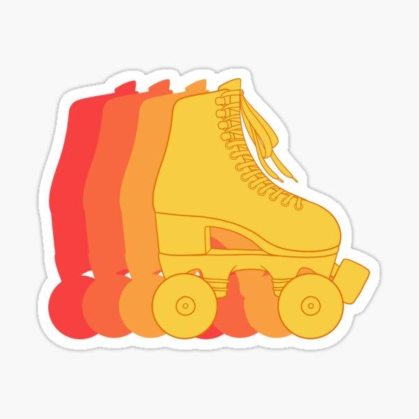 Roller Skate Sticker Sticker