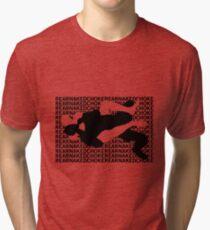 Jiu Jitsu MMA Rear Naked Choke Tri-blend T-Shirt