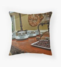 Coffee Station Throw Pillow