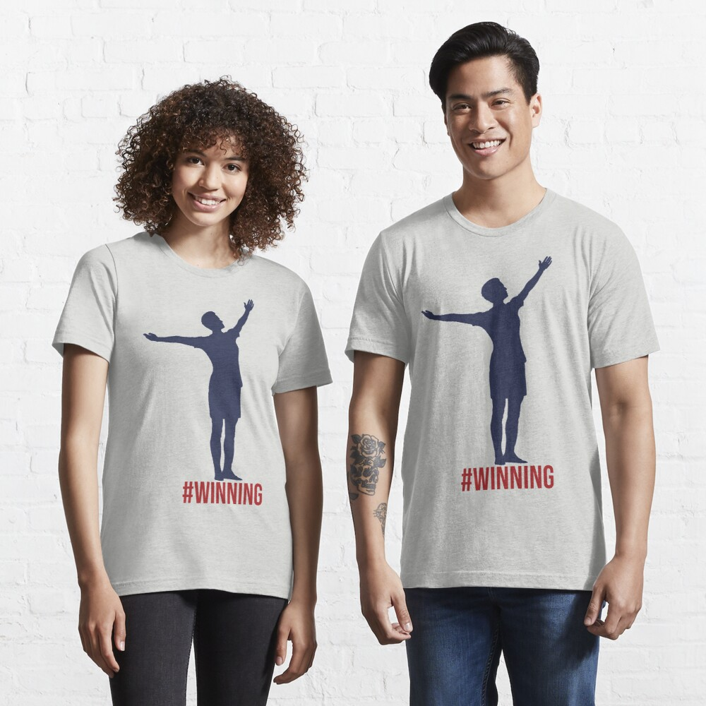 Megan Rapinoe - #Winnning Red, White, and Blue Essential T-Shirt