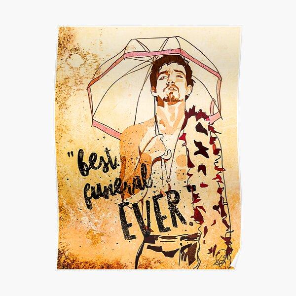 Umbrella Academy Art, Number 4 Klaus Hargreeves Poster