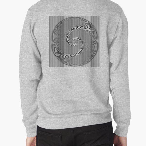 #Design, #abstract, #pattern, #illustration, psychedelic, vortex, modern, art, decoration Pullover Sweatshirt