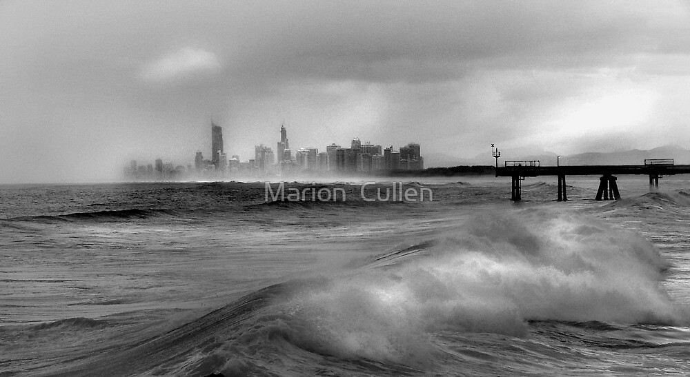 Rising From The Storm by Marion  Cullen
