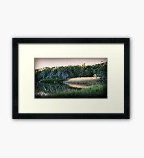 Reflected Lowlight Framed Print