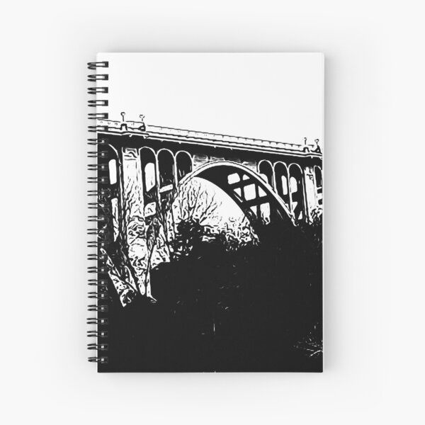 Colorado Street Bridge, Pasadena, California Spiral Notebook