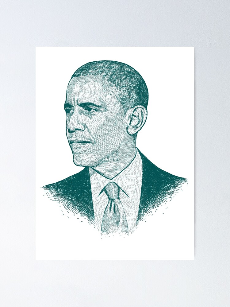 Alternate view of Obama Poster