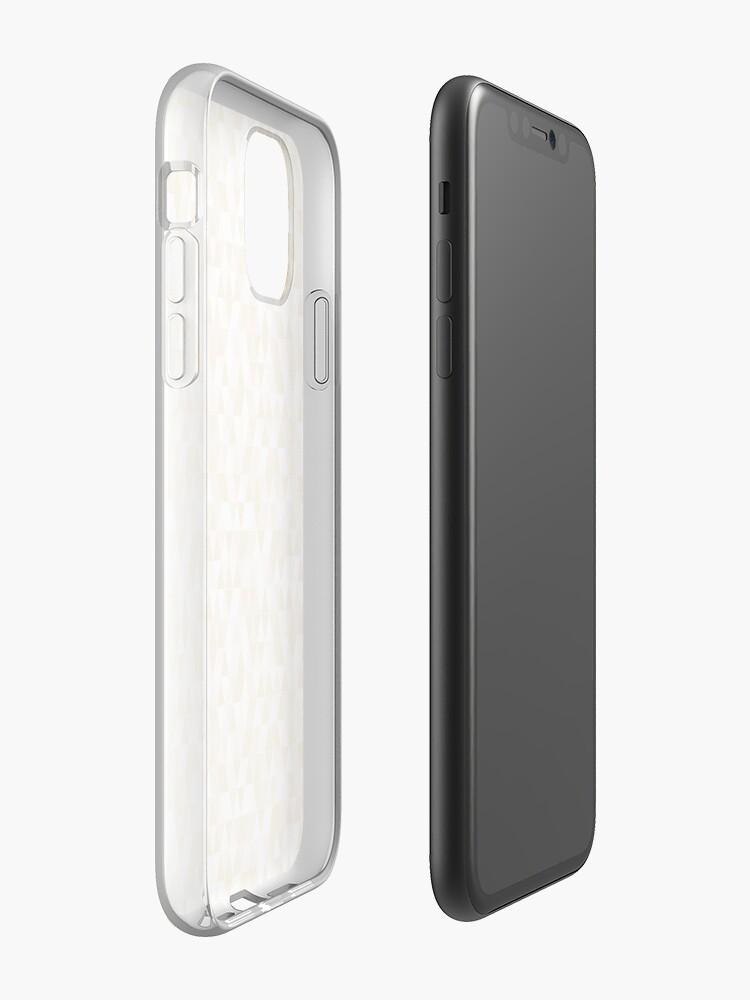 coque vernis chanel , Coque iPhone «Motifs Géométriques # 1», par Spinickus