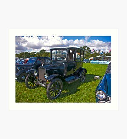 1921 Ford Sedan Model 'T' Art Print