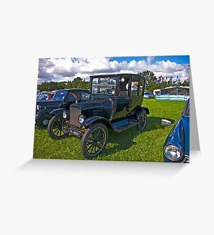 1921 Ford Sedan Model 'T' Greeting Card
